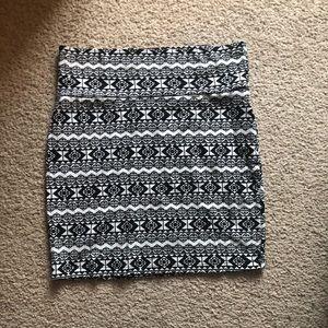 Tribal Pattern Skirt